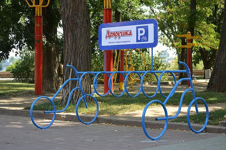велопарковка в николаеве